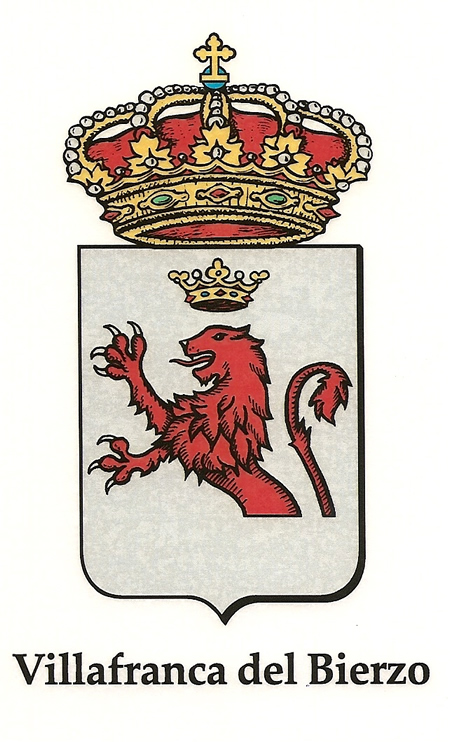 Escudo del Ayuntamiento de Villafranca del Bierzo