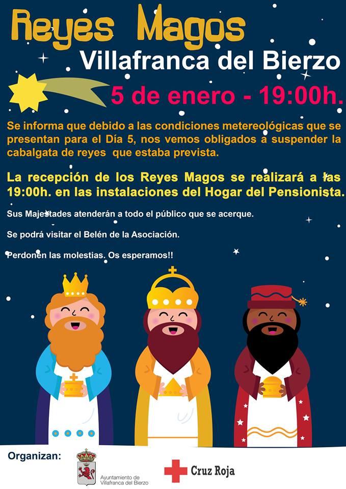 Foto de Los Reyes Magos en Villafranca de Bierzo