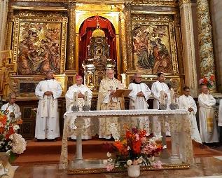 Foto de Villafranca inaugura un Año Diocesano de la Santidad con motivo del cuarto centenario de la muerte de San Lorenzo de Brindis