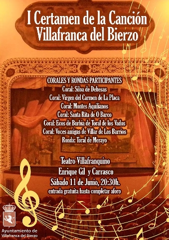 Foto de I Certamen de la Canción en Villafranca del Bierzo