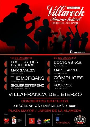 Foto de 4ª edición del Villarock en Villafranca del Bierzo