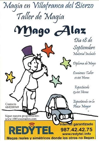 Foto de Taller de Magia en Villafranca del Bierzo