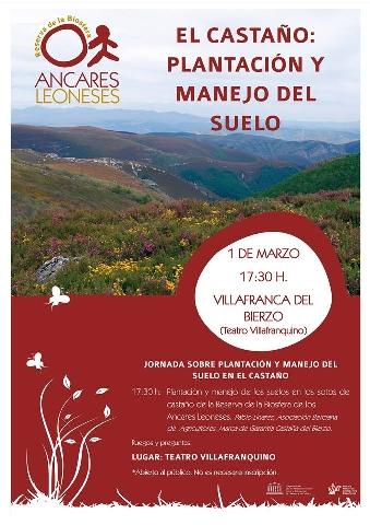 Foto de Jornada El Castaño: plantación y manejo del suelo en Villafranca del Bierzo