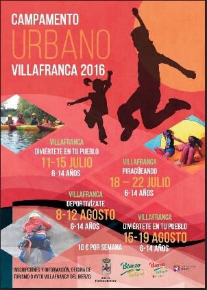 Foto de Campamento Urbano Villafranca 2016