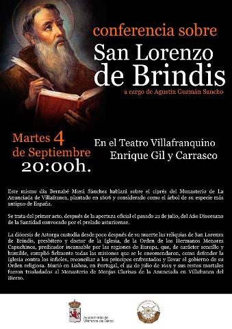 Foto de Conferencia sobre San Lorenzo de Brindis