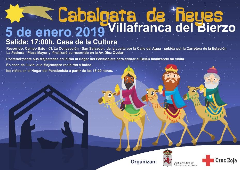 Foto de El sábado 5 de Enero llegan los Reyes Magos a Villafranca del Bierzo.