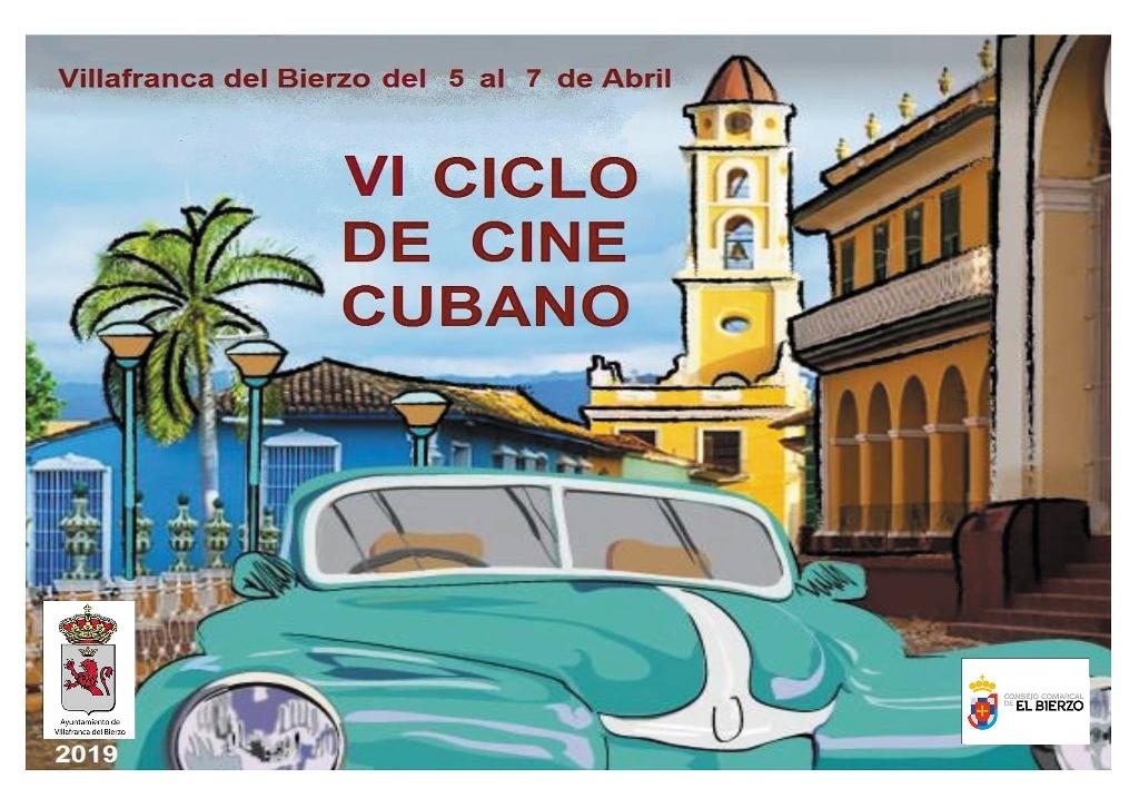 Foto de Cartel y Programa del VI CICLO DE CINE CUBANO