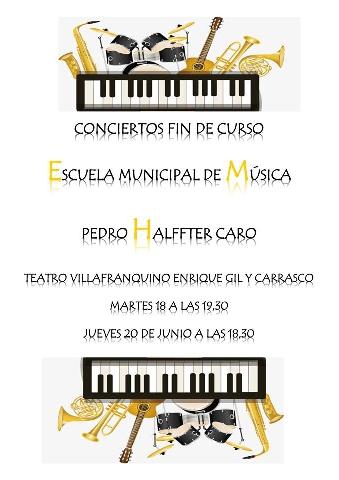 Foto de Conciertos Fin de Curso Escuela Municipal de Música