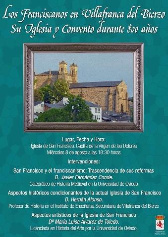 Foto de Los Franciscanos en Villafranca del Bierzo. Su Iglesia y Convento durante 800 años