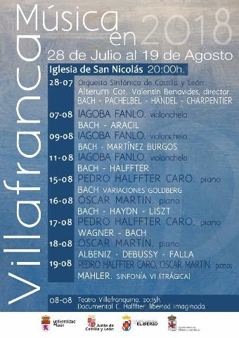 Foto de Música en Villafranca del Bierzo, multiplica su actividad en verano