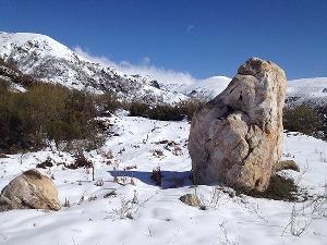 Foto de Piden protección y una investigación profunda para un menhir descubierto en la zona de Tejeira