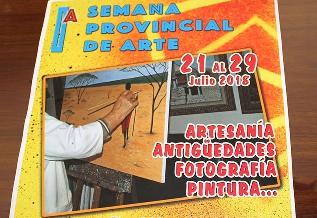 Foto de El Campairo y la calle del Agua de Villafranca, escenarios de artesanía, antigüedades, fotografía y pintura en la I Semana Provincial de Arte