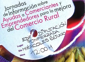 Foto de Jornadas de información sobre Ayudas a Comerciantes y Emprendedores para la mejora del Comercio Rural