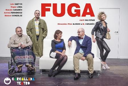 Foto de FUGA en el Teatro Villafranquino