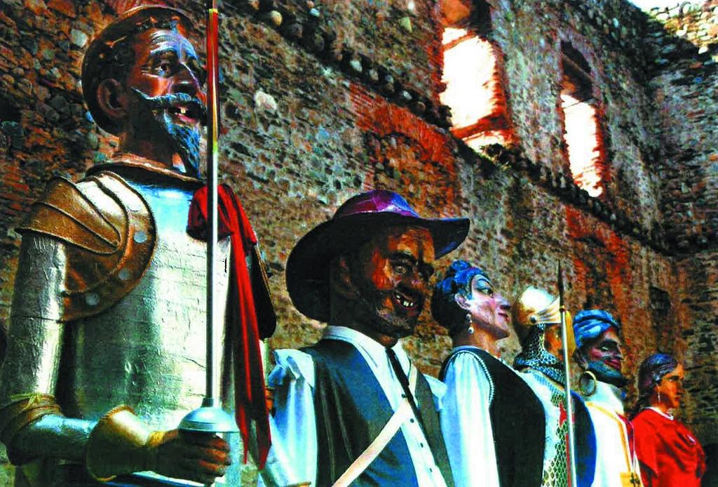 Foto de Gigantes y Cabezudos de Villafranca del Bierzo