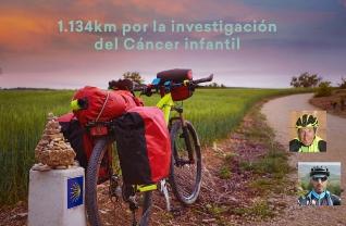 Foto de #ElDesafioDePaco por la Investigación del Cáncer Infantil, llega a Villafranca del Bierzo