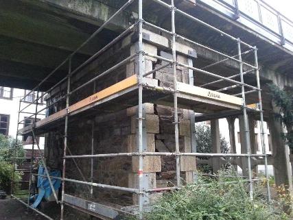 Foto de Obras de urgencia en el Viaducto de Villafranca del Bierzo