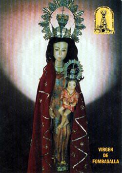 Imagen de la Virgen de Fombasallá